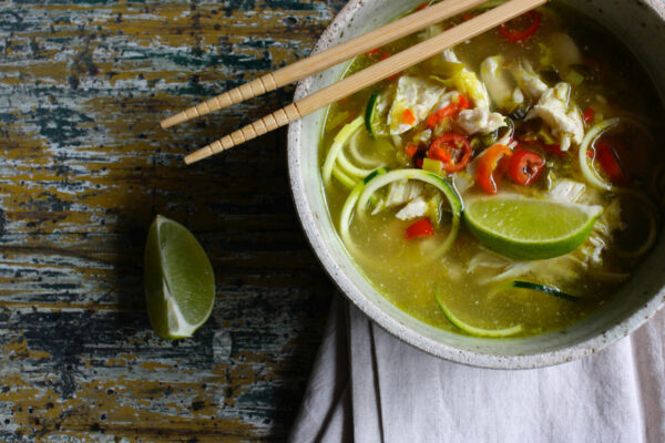 chicken-pho-with-raw-zucchini-noodles
